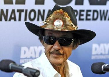 """She can go fast but she can't race,"" said Richard Petty."